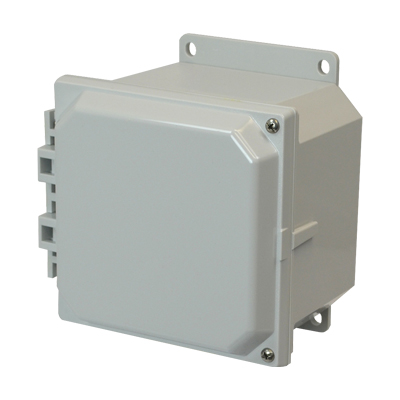 Allied Moulded AMP664HF NEMA 4X Polycarbonate Enclosure