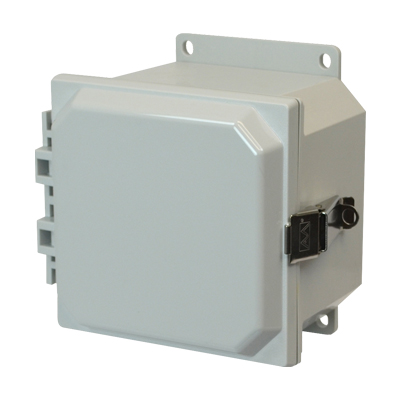 Allied Moulded AMP664LF NEMA 4X Polycarbonate Enclosure