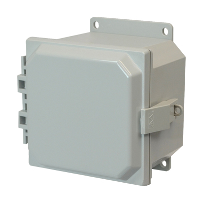 Allied Moulded AMP664NLF NEMA 4X Polycarbonate Enclosure