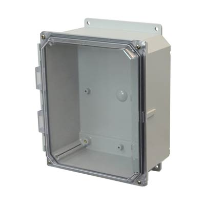 Allied AMP864CCF NEMA 4X & 6P Polycarbonate Enclosure