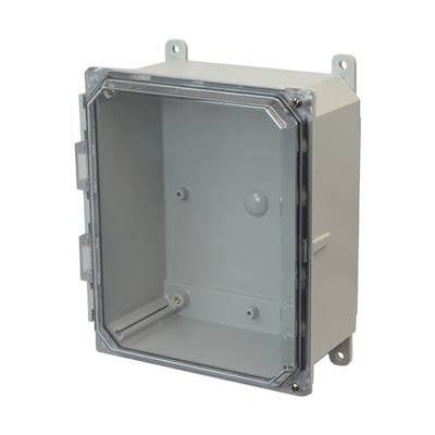 Allied Moulded AMP864CCH NEMA 4X Polycarbonate Enclosure_THUMBNAIL