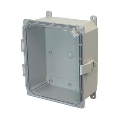 Allied Moulded AMP864CCNL NEMA 4X Polycarbonate Enclosure