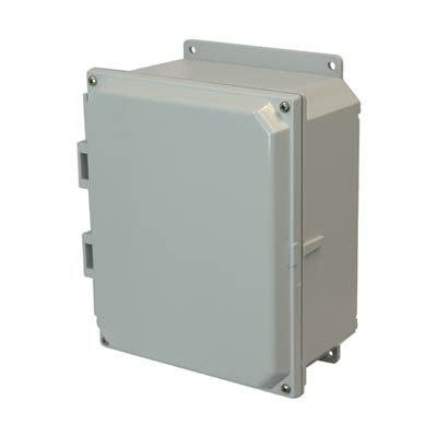Allied AMP864F NEMA 4X & 6P Polycarbonate Enclosure