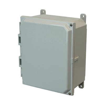 Allied Moulded AMP864H NEMA 4X Polycarbonate Enclosure