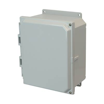Allied Moulded AMP864HF NEMA 4X Polycarbonate Enclosure_THUMBNAIL