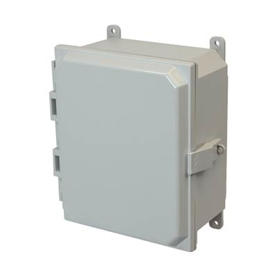 Allied Moulded AMP864NL NEMA 4X Polycarbonate Enclosure