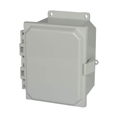Allied Moulded AMP864NLF NEMA 4X Polycarbonate Enclosure