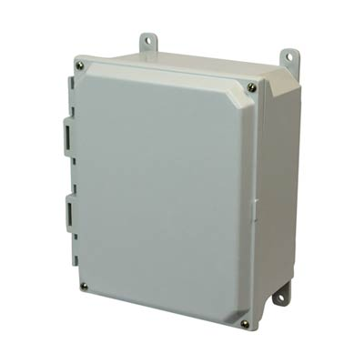 Allied AMU1084 NEMA 4X & 6P Fiberglass Enclosure