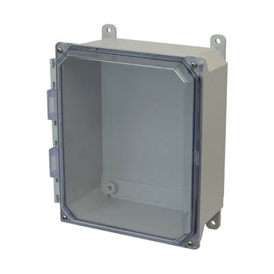 Allied AMU1084CC NEMA 4X & 6P Fiberglass Enclosure