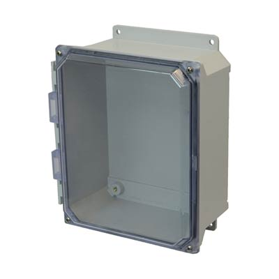 Allied AMU1084CCF NEMA 4X & 6P Fiberglass Enclosure