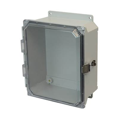 Allied Moulded AMU1084CCLF NEMA 4X Fiberglass Enclosure