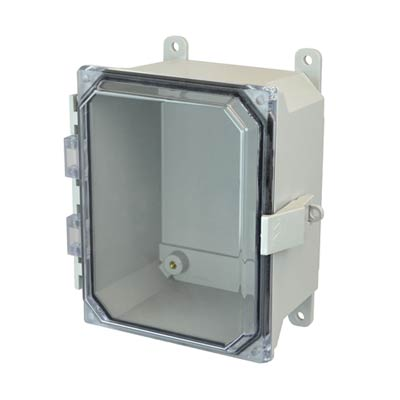 Allied Moulded AMU1084CCNL NEMA 4X Fiberglass Enclosure