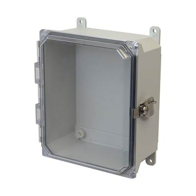 Allied Moulded AMU1084CCT NEMA 4X Fiberglass Enclosure