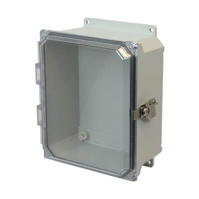 Allied Moulded AMU1084CCTF NEMA 4X Fiberglass Enclosure