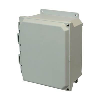 Allied Moulded AMU1084HF NEMA 4X Fiberglass Enclosure