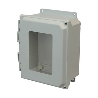 Allied Moulded AMU1084HWF NEMA 4X Fiberglass Enclosure