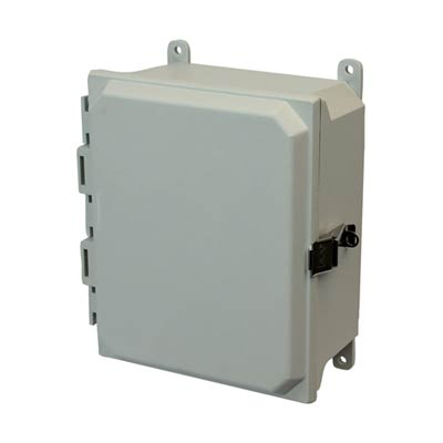 Allied Moulded AMU1084L NEMA 4X Fiberglass Enclosure_THUMBNAIL