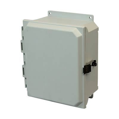 Allied Moulded AMU1084LF NEMA 4X Fiberglass Enclosure