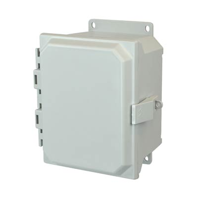 Allied Moulded AMU1084NLF NEMA 4X Fiberglass Enclosure_THUMBNAIL