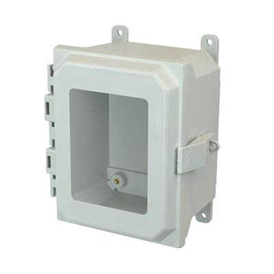 Allied Moulded AMU1084NLW NEMA 4X Fiberglass Enclosure