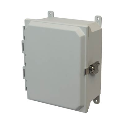 Allied Moulded AMU1084T NEMA 4X Fiberglass Enclosure