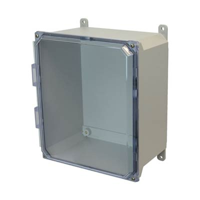 Allied AMU1206CC NEMA 4X & 6P Fiberglass Enclosure