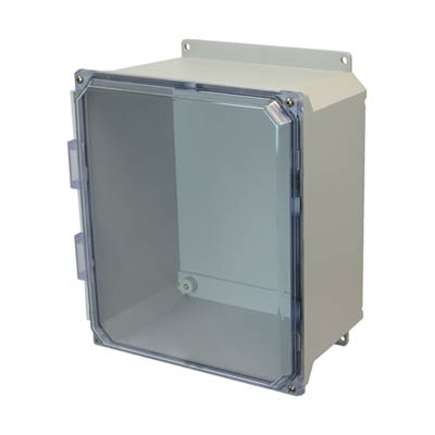 Allied AMU1206CCF NEMA 4X & 6P Fiberglass Enclosure