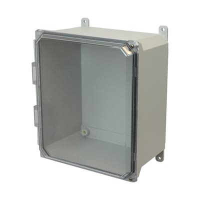 Allied Moulded AMU1206CCH NEMA 4X Fiberglass Enclosure