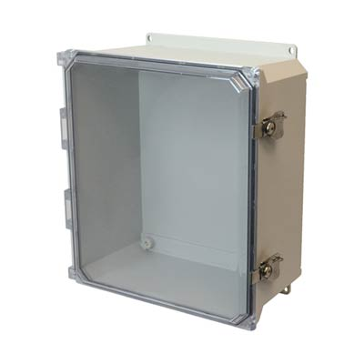 Allied Moulded AMU1206CCTF NEMA 4X Fiberglass Enclosure