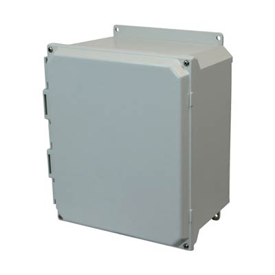 Allied AMU1206F NEMA 4X & 6P Fiberglass Enclosure