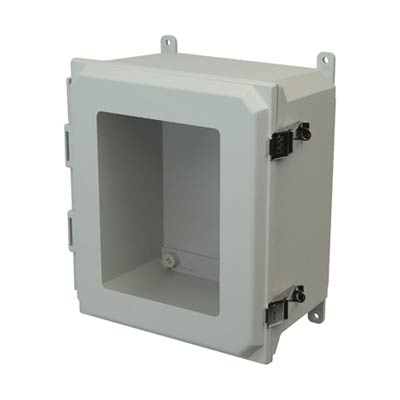 Allied Moulded AMU1206LW NEMA 4X Fiberglass Enclosure