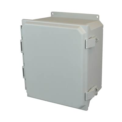 Allied Moulded AMU1206NLF NEMA 4X Fiberglass Enclosure_THUMBNAIL