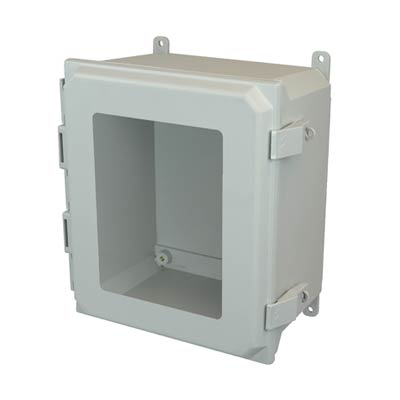 Allied Moulded AMU1206NLW NEMA 4X Fiberglass Enclosure