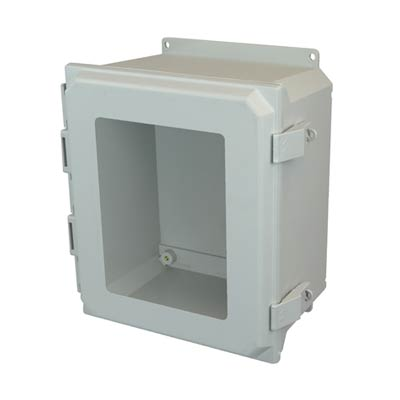 Allied Moulded AMU1206NLWF NEMA 4X Fiberglass Enclosure