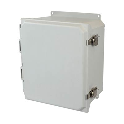 Allied Moulded AMU1206TF NEMA 4X Fiberglass Enclosure