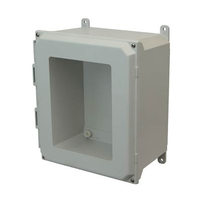 Allied Moulded AMU1206W NEMA 4X Fiberglass Enclosure