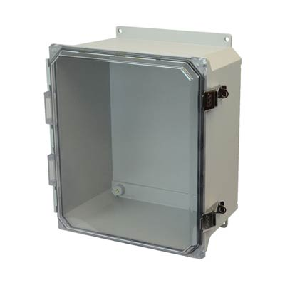 Allied Moulded AMU1426CCLF NEMA 4X Fiberglass Enclosure