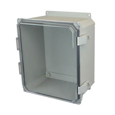 Allied Moulded AMU1426CCNLF NEMA 4X Fiberglass Enclosure