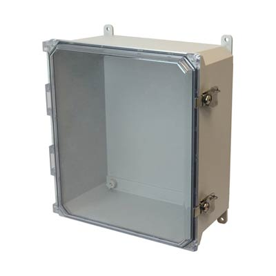 Allied Moulded AMU1426CCT NEMA 4X Fiberglass Enclosure