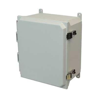 Allied Moulded AMU1426L NEMA 4X Fiberglass Enclosure_THUMBNAIL