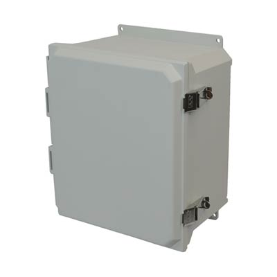 Allied Moulded AMU1426LF NEMA 4X Fiberglass Enclosure