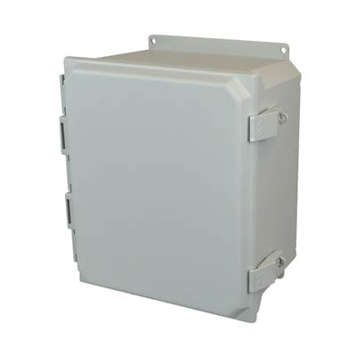 Allied Moulded AMU1426NLF NEMA 4X Fiberglass Enclosure