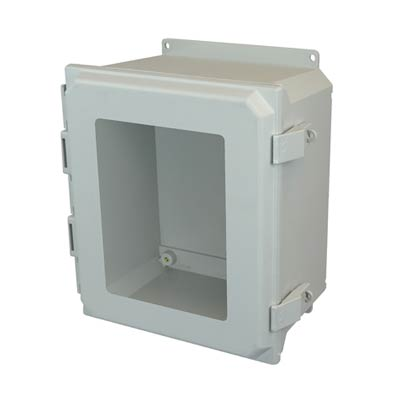 Allied Moulded AMU1426NLWF NEMA 4X Fiberglass Enclosure