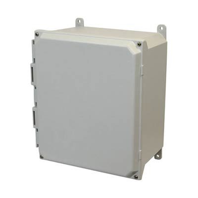 Allied AMU1648 NEMA 4X & 6P Fiberglass Enclosure