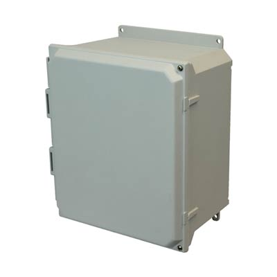 Allied Moulded AMU1648HF NEMA 4X Fiberglass Enclosure