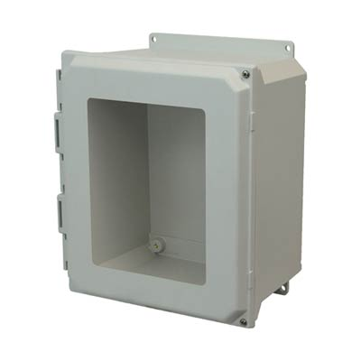 Allied Moulded AMU1648HWF NEMA 4X Fiberglass Enclosure