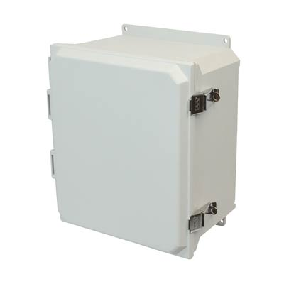 Allied Moulded AMU1648LF NEMA 4X Fiberglass Enclosure_THUMBNAIL