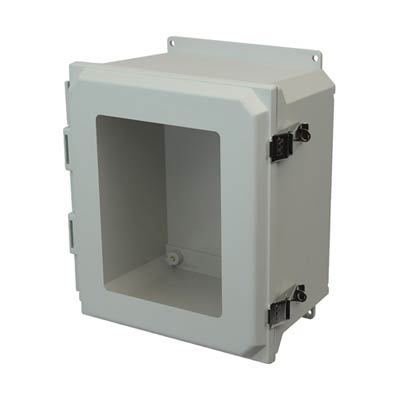 Allied Moulded AMU1648LWF NEMA 4X Fiberglass Enclosure