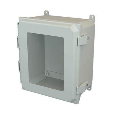Allied Moulded AMU1648NLW NEMA 4X Fiberglass Enclosure