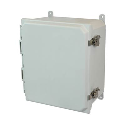Allied Moulded AMU1648T NEMA 4X Fiberglass Enclosure
